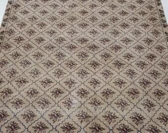6 by 10 rug, Large Vintage Rug, Large Oushak Rug, Large Turkish Rug, Large Area Rug, Large Boho Rug, Oushak Rug, Large Rug, Oversize Rug