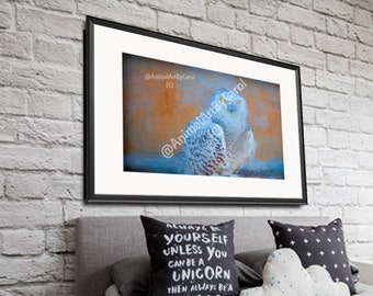 Owl Decor - Owl Wall Art, perfect gift for a friend or for home or office