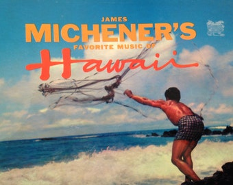 James Michener's Favorite Music of Hawaii - vinyl record