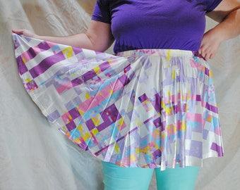 Glitch Skater Skirt