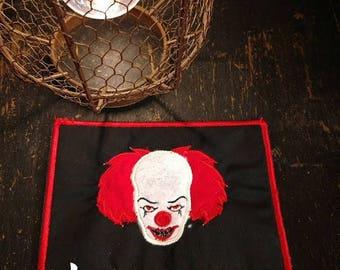 Clown IT mug rug for your coffee or tea