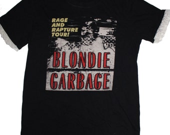 Repurposed Blondie Garbage Tee