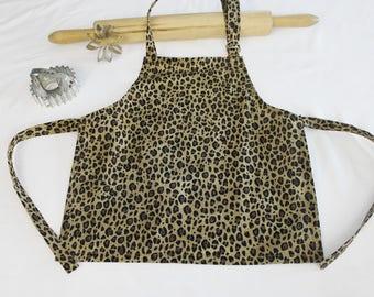 Infant Wild Cheetah Apron