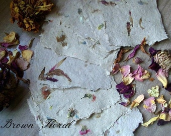 500 sheets of handmade paper, eco friendly paper, recycled paper, decorative paper, wedding supply, homemade paper, printing supply
