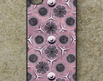 iPhone Cover(all models) - smartphone - Mobile - Samsung Galaxy S3 S4 S5 S6 S7 S8 & more - Ernst Haeckel - Nineteenth Century - Radiolarian
