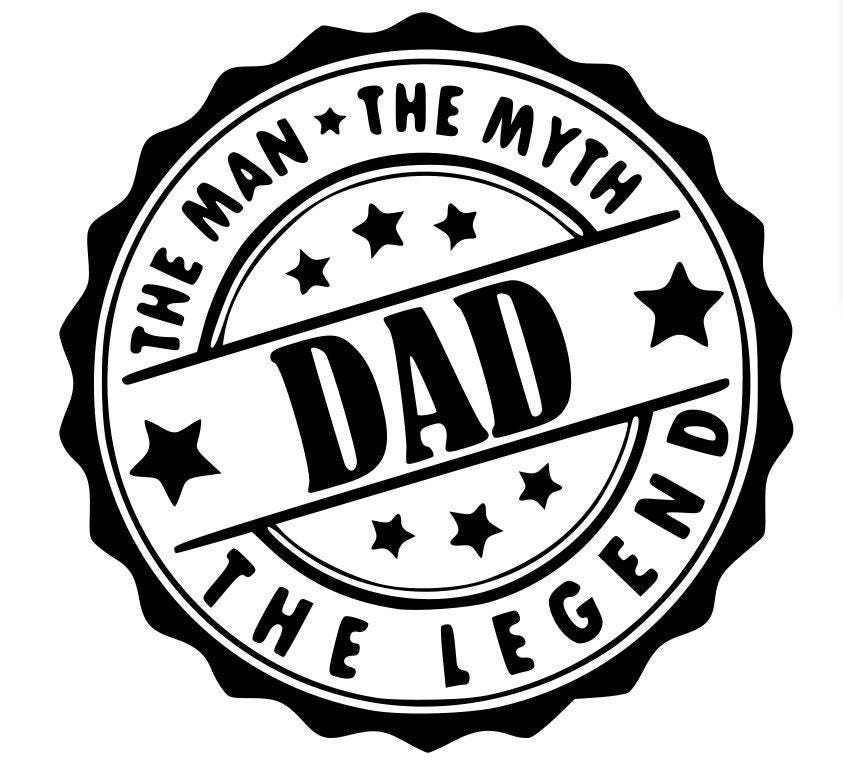 Dad the man the myth the legend svg png pdf zoom sciox Gallery