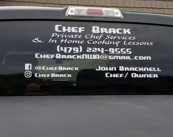 Custom Window Decal Etsy - Custom car decals business