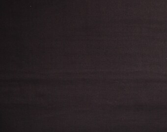 Solid Double Gauze Fabric - Japanese Fabric - Kokka Oeko-Tex -  Expresso Brown (15) - Ichi No Kire - Fabric by the Yard - Light Weight