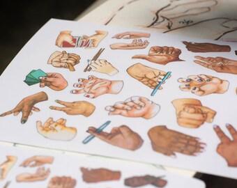 Hand Stickers