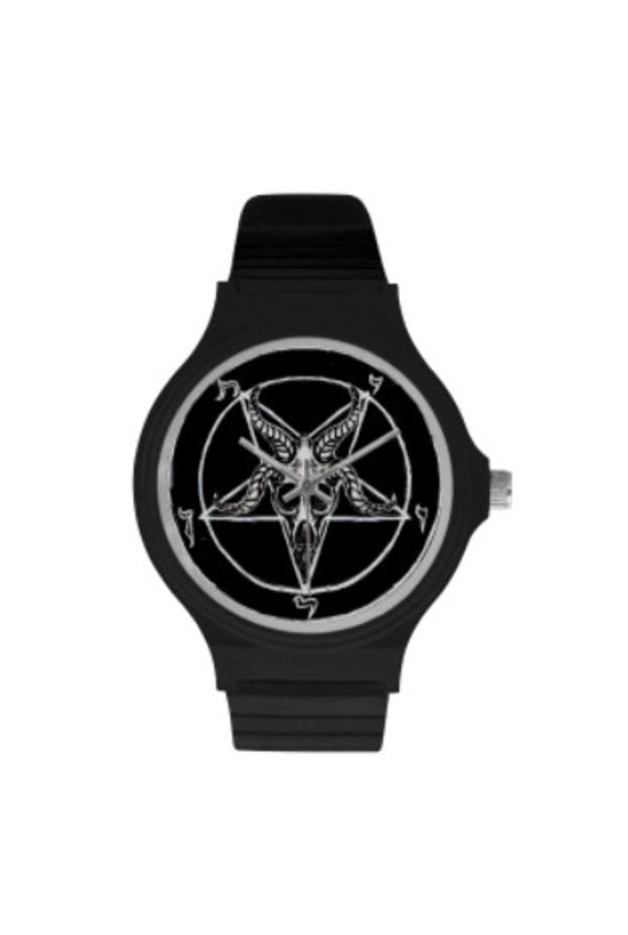 Sigil of Baphomet swatch style watch