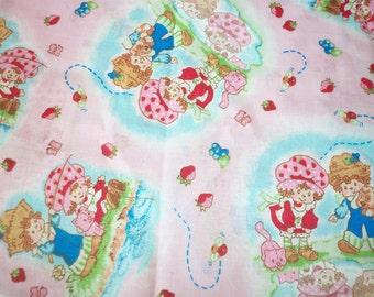 Strawberry Shortcake Fabric  Huckleberry Pie Cute New BTFQ