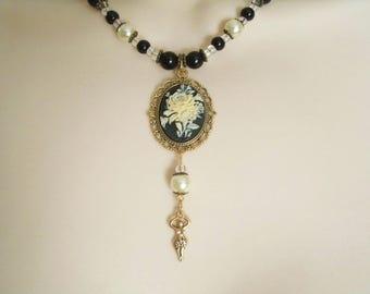 Goddess Necklace, wiccan jewelry pagan jewelry wicca jewelry goddess jewelry witch necklace witchcraft magic pagan necklace wiccan necklace
