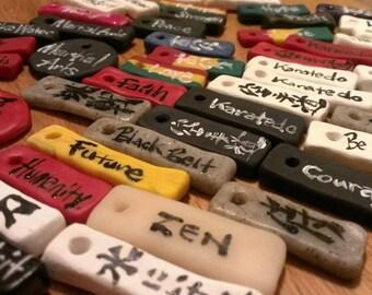 Your Spiritual Message or Name in Japanese Kanji  -Custom Made-