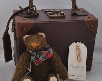 Maxfield - Handmade Mohair Artist Bear OOAK
