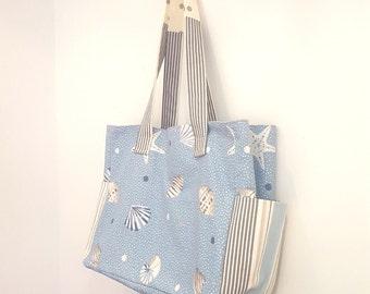SEWING PATTERN - Bella Shopper bag