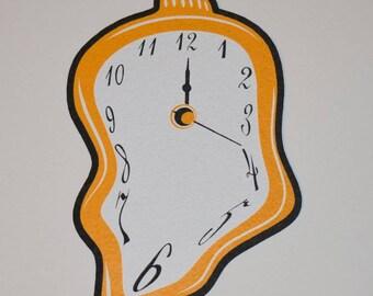 Dali Clock Dab Mat- Mood Mat
