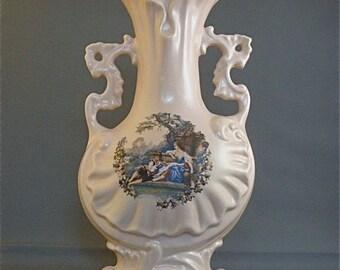 Vintage Porcelain Art Vase