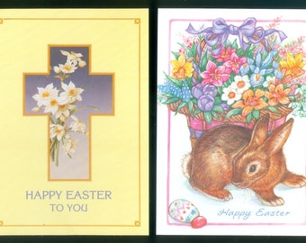 Happy Easter To You - Two NEW Greeting Postcards from Current Inc Colorado Springs (72516)