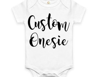 Custom baby onesie etsy best selling items negle Gallery
