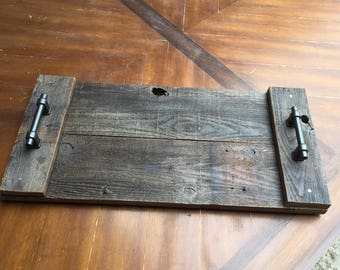 Reclaimed Fence Wood Tray