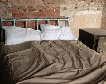 All Metal Bed Frame - Modern Rustic Industrial Scaffold  - The Lochnaggar