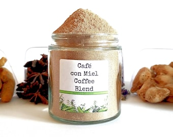 Café con Miel/Spanish Coffee/Coffee With Honey/Instant Coffee/Coffee Gift/Gifts For Foodies/Foodie Gift/Food Gift/Chef Gift/Coffee Lover
