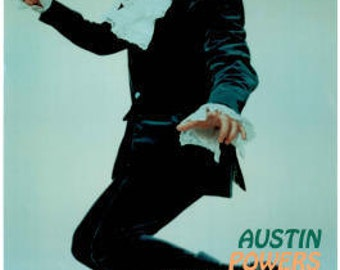 Austin Powers Mike Meyers Poster 24 x 36