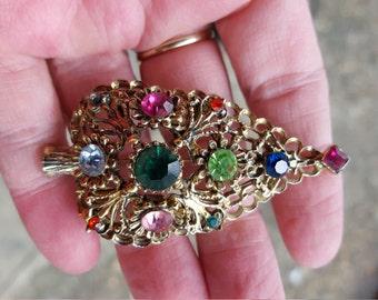 Dodds Christmas Tree Pin/Brooch