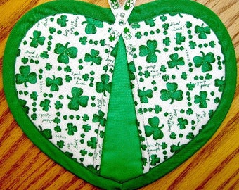 St. Patrick's Sayings Potholders - Set of 2