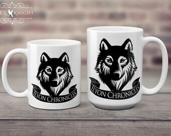 Ilyon Chronicles Wolf Coffee Mug