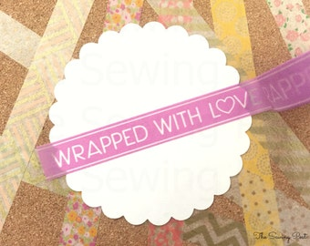 Washi Tape: Wrapped with Love