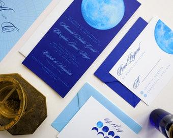 Syzygy Wedding Invitation Suite