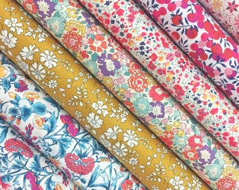 Liberty Fabric Tana Lawn 6 Fat Quarters Rachel Selection