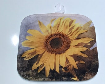 Sunflower Hot Pad / Pot Holder