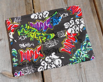 Reusable Snack Bag - Single Bag in Graffiti