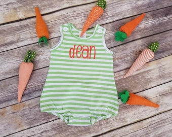 Baby Romper Baby Easter Outfit Bubble Romper Toddler Romper Toddler Easter Outfit  Toddler Spring Outfit Baby Summer Outfit Summer Romper
