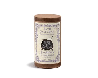 Lavender & Chamomile Bath Salt Soak - 20 oz.