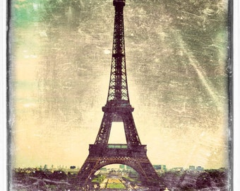 Vintage Paris photography, Eiffel Tower photograph, Paris print, vintage photography, French decor - World's Fair