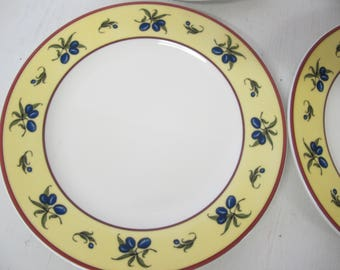 Villeroy and Boch Le Sud Luxembourg Salad plates