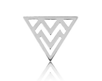 Charm Triangle Sterling Silver 925