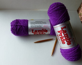 Yarn Sale  -Violet Fields Lamb's Pride Worsted by Brown Sheep Company