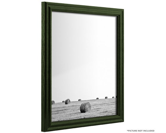 Craig Frames, 24x32 Inch Hunter Green Solid Wood Picture Frame ...