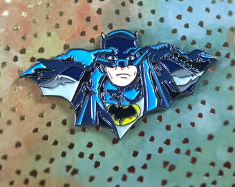 Batman Pin Justice League Stocking Stuffers Christmas Gift Adam West Joker Harley Quinn Catwoman Soft Enamel Pin Backpack Enamel Pin Punk