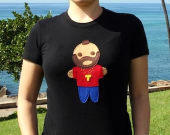 Looks Like Mr. Tee... Women T-Shirt [BLACK]