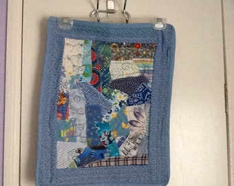 Handmade quilted wall art