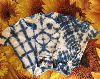 Shibori style Tie dye Onesie