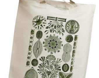 Plankton & Algae Group 06 Eco Friendly Canvas Tote Bag (isl085)