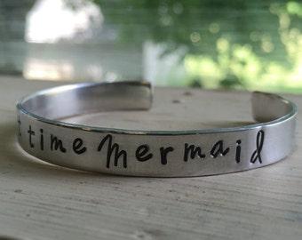 Mermaid Jewelry Bracelet - Silver - Mermaid - Part Time