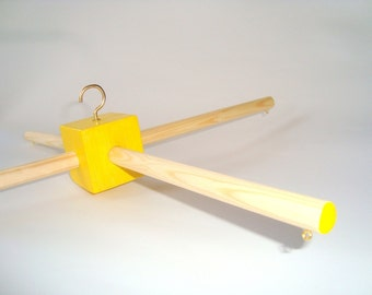 Wooden mobile hanger. Wood mobile frame. Mobile base