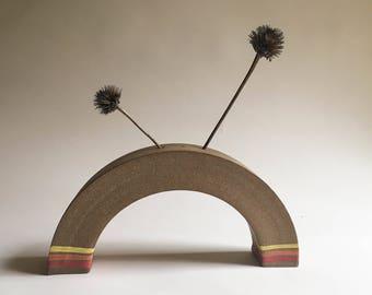 Arched Stem Vase